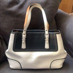 Classic elegant Coach satchel